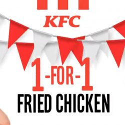 KFC: Enjoy 1-For-1 Chicken on National Fried Chicken Day!