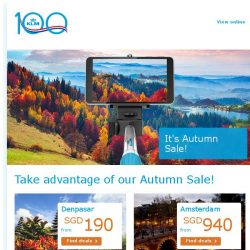 [KLM] Last chance to book your autumn hot pick from SGD 730