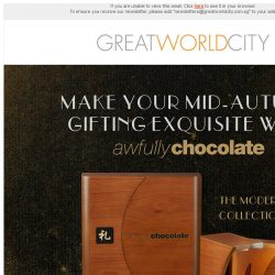 [Great World City]  Awfully Chocolate's Exquisite Mooncake Collection