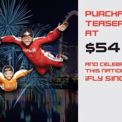 iFly Singapore: National Day Offer - Purchase a Teaser Package at $54 (UP $89)