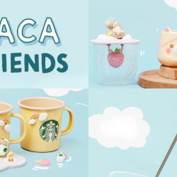 Starbucks: NEW Alpaca & Friends Collection