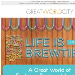[Great World City]  Life is Brewtiful at Great World City (6 - 22 Sep)