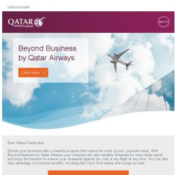 [Qatar] Take your business travel further with Beyond Business