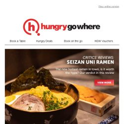 [HungryGoWhere] Ramen lovers, this is for you: Our latest reviews and deals