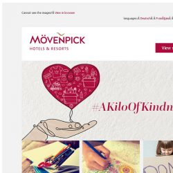 [Mövenpick Hotels & Resorts] Make a difference with #AKiloOfKindness