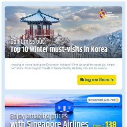 [cheaptickets.sg] ⛄️ Top chilling winter destinations that will give you goosebumps! ❄️