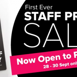 Harvey Norman: First Ever Staff Price Sale with Over 5,800 Deals at Staff Price!