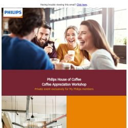[PHILIPS] Only 20 seats! Exclusive specialty coffee workshop for My Philips members.