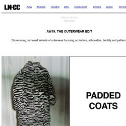 [LN-CC] AW19: The Outerwear Edit