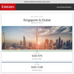 [Emirates] Enjoy two complimentary hotel nights in Dubai