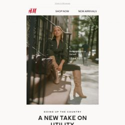 [H&M] How To Wear the Utility Trend