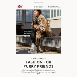 [H&M] How To Match Your Four-Legged Friend