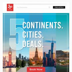 [Kaligo] , enjoy up to 9,253 with these 5 deals across continents