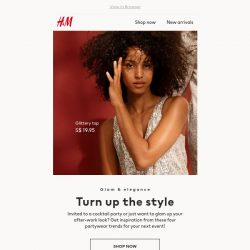 [H&M]  4 party trends you don't want to miss
