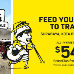 Scoot: GTG Sale with All-in Sale Fares from SGD54 to Penang, Bangkok, Phuket, Bali & More!