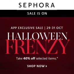 Sephora Singapore: App Exclusive Sale with 40% OFF Selected Items from 3CE, Mario Badescu, Hourglass, Two Faced & More!