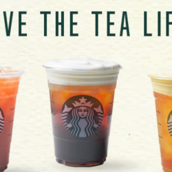 Starbucks: 4 NEW Thirst Quenching Teavana™ Tea Beverages to Try!