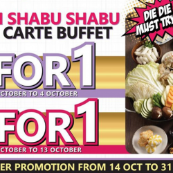 Seoul Yummy: Enjoy 1-for-1 Korean Shabu Shabu & Ala Carte Buffet at Junction 8!