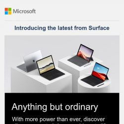 [Microsoft Store] Pre-order new Surface Pro 7 and Surface Laptop 3. Now in Black