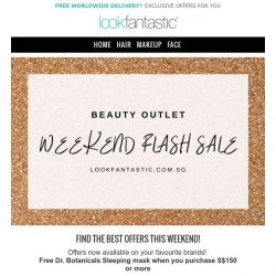 [lookfantastic] WEEKEND SALE! First Aid Beauty and more!