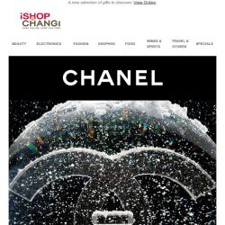 [iShopChangi] CHANEL is the spirit of Christmas