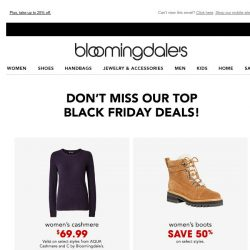 [Bloomingdales] Check out our top deals on cashmere, denim and more!