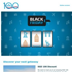 [KLM] Get your Black Friday discount now!