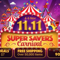 ezbuy: 11.11 Super Savers Carnival with Super Crazy Deals on iPhone, AirPods Pro, Nintendo Switch, Dyson Airwrap, Osmo Pocket & More!