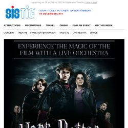 [SISTIC] HARRY POTTER and the Goblet of Fire in CONCERT