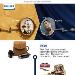 [PHILIPS] , have you seen the world's first rotary shaver?