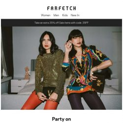 [Farfetch] Party on. 16 pieces to cure festive fatigue