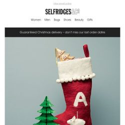 [Selfridges & Co] Open for seriously good stocking fillers