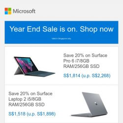 [Microsoft Store] Year End Sale: Save big on Surface and Xbox