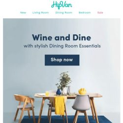 [HipVan] Shop from over 200+ Dining Room Essentials!🍴