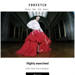 [Farfetch] Going, going, gone. Shop the season's most-wanted pieces