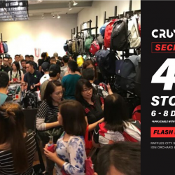 Crumpler Singapore: Flash Image to Enjoy the Secret Sale with 40% OFF Storewide!