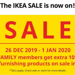 IKEA: Enjoy Great Savings of Up to 50% + Additional 10% OFF for IKEA FAMILY Members!
