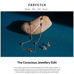 [Farfetch] Start the year right. Shop conscious jewellery