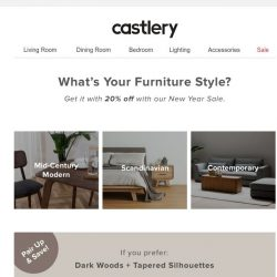 [Castlery] What's Your Furniture Style?