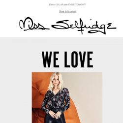 [Miss Selfridge] The £20 wardrobe essential you need!