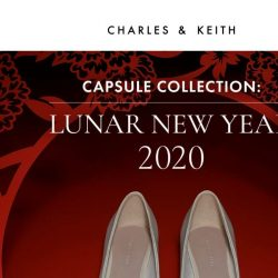 [Charles & Keith] Lunar New Year 2020 Capsule Collection