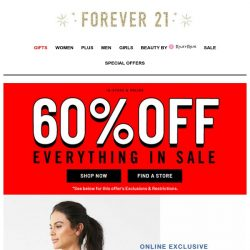 [FOREVER 21] YOU GOT THIS BOO, NO SWEAT 💦