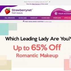 [StrawberryNet] 💄Up to 65% off Romantic Makeup