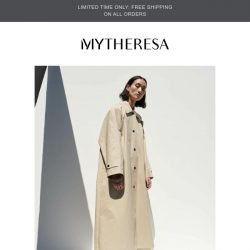 [mytheresa] Now trending   Coats to covet + limited time free shipping