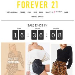 [FOREVER 21] 🚨🚨 24HRS ONLY! 🚨🚨
