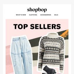 [Shopbop] Top sellers: winter edition