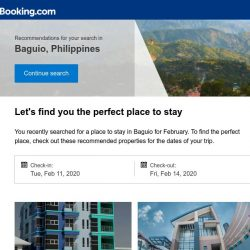 [Booking.com] Deals in Baguio from S$ 44