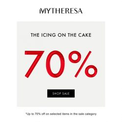 [mytheresa] Sale – final reductions: now up to 70%