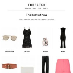 [Farfetch] Thanks, they're new
