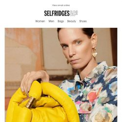 [Selfridges & Co] Let's make this a very happy Monday